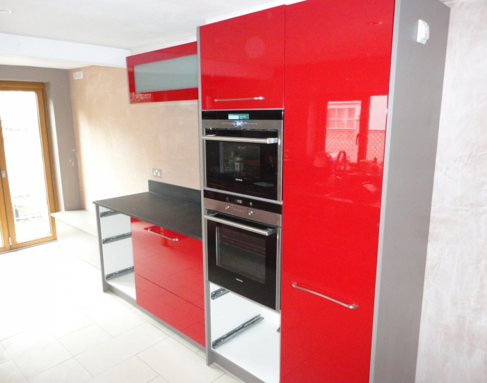 Contemporary kitchen installation at property in Fulham